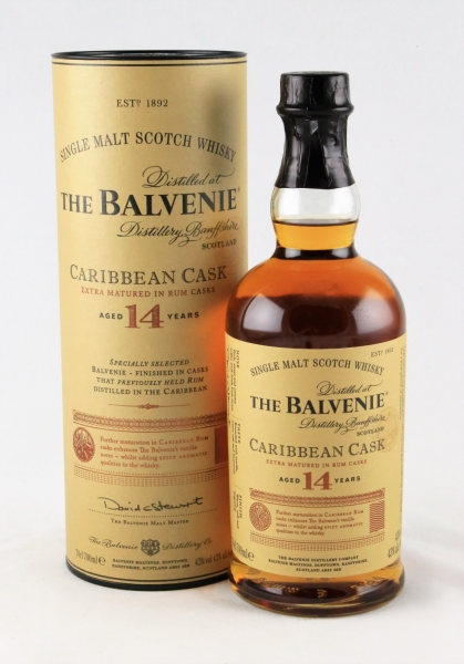 The Balvenie Caribbean Cask 14 Jahre, Single Malt Whisky