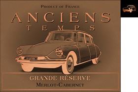 Anciens Temps Citroën-DS Grand Réserve IGP '16
