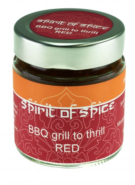 BBQ Grill to thrill RED | Spirit of Spice